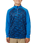 Slazenger Boys' Printed Colorblock 1/4-Zip