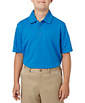 Slazenger Boys' Textured Solid Polo