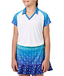Slazenger Girls' Printed Polo
