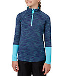 Slazenger Girls' Ombre Textured 1/4-Zip