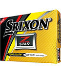 Srixon Z-STAR Tour Yellow Golf Balls - 12 Pack