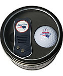 Team Golf New England Patriots Switchfix Tin Gift Set - 2017 Super Bowl Champions Edition