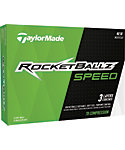 TaylorMade RocketBallz Speed Golf Balls - 12 Pack