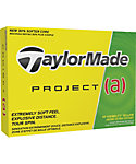 TaylorMade Project (a) Yellow Golf Balls - 12 Pack