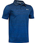 Under Armour Boys' Trajectory Stripe Polo