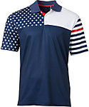 Walter Hagen USA Flag Print Polo