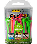 CHAMP Zarma FLYtee 2 3/4'' Neon Golf Tees - 30 Pack