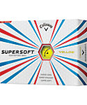 Callaway SuperSoft Yellow Golf Balls - 12 Pack