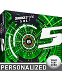 Bridgestone e5 High Flight Personalized Golf Balls - 12 Pack