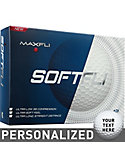 Maxfli Softfli Personalized Golf Balls - 12 Pack