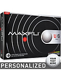 Maxfli U/6 Personalized Golf Balls - 12 Pack