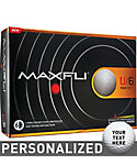 Maxfli U/6LC Personalized Golf Balls - 12 Pack