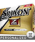 Srixon Z-Star Personalized Golf Balls (ZStar 4) - 12 Pack
