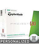 TaylorMade Project (a) Personalized Golf Balls - 12 Pack