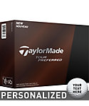 TaylorMade Tour Preferred Personalized Golf Balls - 12 Pack