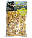 Pride PTS 2 3/4'' Natural Golf Tees - 100 Pack