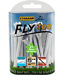 CHAMP Zarma FLYtee 2 3/4'' White Golf Tees - 30 Pack