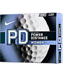 Nike Women's PD Golf Balls - 12 Pack