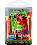 CHAMP Zarma FLYtee 2 3/4'' Assorted Golf Tees - 30 Pack