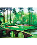 "Golf Gifts & Gallery Unframed Canvas Print of Augusta National #12 (23"" x 29"")"