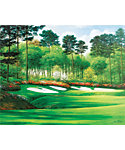 "Golf Gifts & Gallery Unframed Canvas Print of Augusta National #13 (15"" x 17"")"
