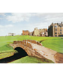 "Golf Gifts & Gallery Unframed Canvas Print of St. Andrews (15"" x 17"")"