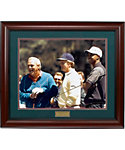 Golf Gifts & Gallery Framed Arnold Palmer, Jack Nicklaus & Tiger Woods Print (24