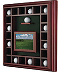 Maxfli Cherry Oak 23 Ball Cabinet