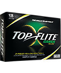 Top Flite Gamer Yellow Golf Balls - 12 Pack