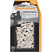 Pride Sports 1.5' Evolution Golf Tees – 30-Pack