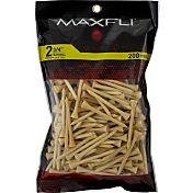 Maxfli 2.75' Natural Golf Tees – 200-Pack
