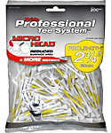 Pride PTS Micro Head 2 3/4'' White Golf Tees - 200 Pack