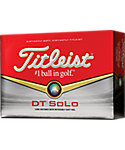 Titleist DT SoLo Golf Balls - 12 Pack