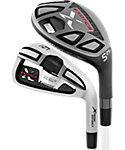 Tour Edge Exotics XCG7 Hybrid/Irons - Graphite/KBS Tour Steel