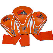 Team Golf Cleveland Browns 3-Pack Contour Headcovers