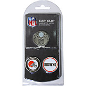 Team Golf Cleveland Browns Two-Marker Cap Clip