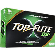 Top Flite D2+ Feel Golf Balls – 15-Pack – Prior Generation
