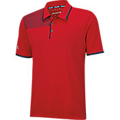 adidas Men's climachill Bonded Print Golf Polo
