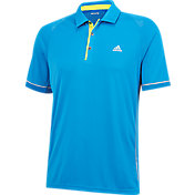 adidas Men's climachill Shoulder Print Golf Polo