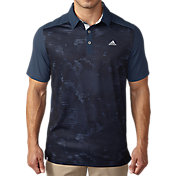 adidas Men's climacool Geo Print Golf Polo