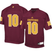adidas Men's Central Michigan Chippewas #10 Maroon Replica Football Jersey