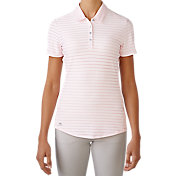 adidas Women's Cotton Hand Stripe Golf Polo