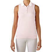 adidas Women's Seamless Sleeveless Golf Polo
