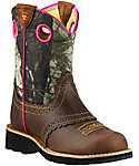 Ariat Kids' Fatbaby Cowgirl Camo Boots