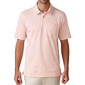 Ashworth Men's Jersey Mini Stripe Pocket Golf Polo