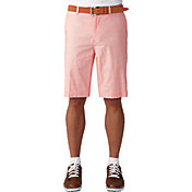 Ashworth Men's Stretch Pinstripe Slub Golf Shorts