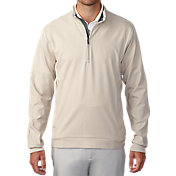 Ashworth Men's Stretch Wind Half-Zip Golf Pullover