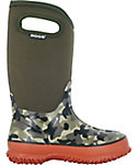 BOGS Kids' Classic Camo Insulated Winter Boots