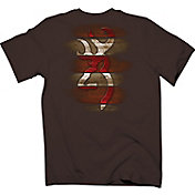 Browning Men's Carved Wooden Buckmark T-Shirt