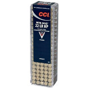CCI .22LR Mini-Mag HP Rifle Ammo – 100 Rounds